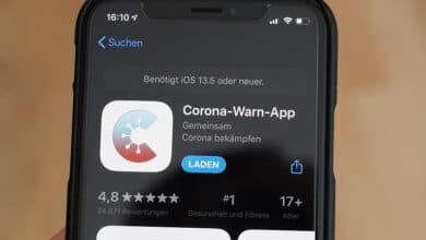 Bild von Datenaustausch in der EU mit der Corona-App