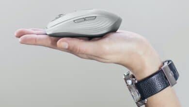Bild von Logitech MX Anywhere 3: Portable Maus mit Schnellladefunktion und magnetischem Mausrad