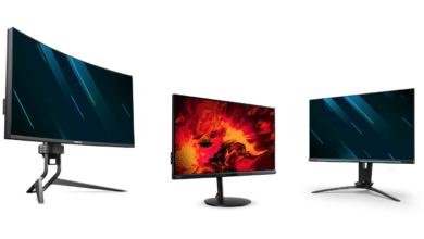 Bild von Acer erweitert sein Gaming-Monitor-Portfolio