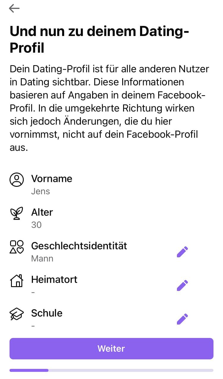 facebook dating mann nicht sichtbar)