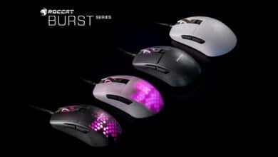Bild von Burst Pro und Core: Roccat stellt gleich zwei extraleichte Gaming-Mäuse vor