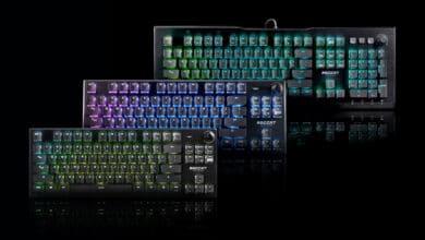 Bild von Roccat präsentiert neue Tastaturen mit optischen Schaltern