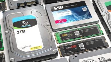 Bild von Die unterschiedlichen Arten von SSDs