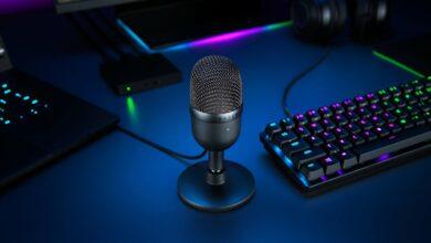 Bild von Razer Seiren Mini USB-Mikrofon – klein, aber oho