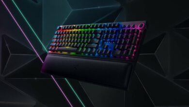 Bild von Razer Blackwidow V3 Pro: Kabellose Gaming-Tastatur ab sofort verfügbar