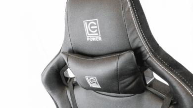 Bild von LC-Power Gaming Chair 801BW: Sieht edel aus, spielt aber in der Mittelklasse mit