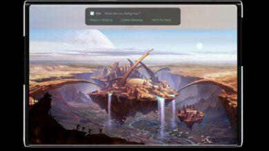 Bild von Oppo: Konzept für rollbares Smartphone vorgestellt
