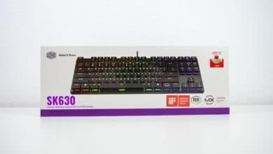 Bild von Mechanische Tastatur in flach – Cooler Master SK630 im Test