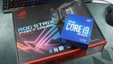 Bild von Gewinnspiel: PC-Upgradebundle mit Intel Core i9-10850K & Asus ROG Strix Z490-F Gaming