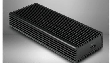 Bild von Inter-Tech Argus K-1685 – Externes NVMe-Gehäuse aus Aluminium im Test