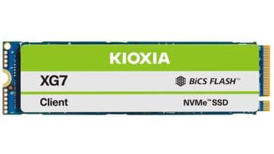 Bild von SSD-Serie für Computer-Hersteller von Kioxia: XG7(-P)
