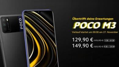 Bild von Poco M3 – Smartphone mit 6.000 mAh Akku im Flashsale