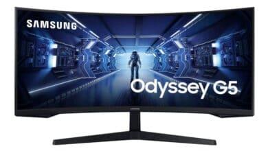 Bild von Samsung C34G55T – 34-Zoll Gaming-Monitor mit 165 Hz und 1.000R vorgestellt