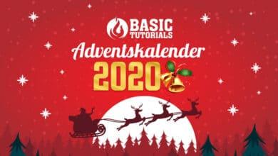 Bild von Mehr als 24 Türchen warten – der Basic Tutorials Technik-Adventskalender 2020!