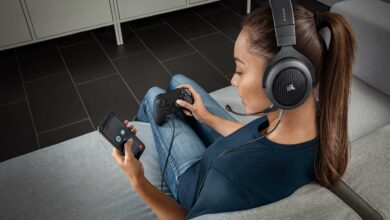 Bild von Corsair bringt neues Gaming-Headset mit Bluetooth auf den Markt