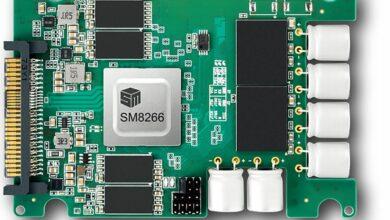 Bild von SMI SSD-Controller SM8266 hat 16 Kanäle und 6,5 GB/s über PCIe 4.0
