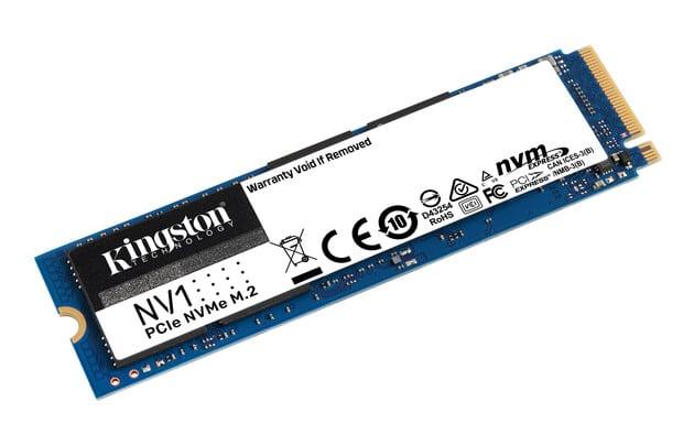 Kingston NV1: NVMe SSD with PCIe Gen3 x4