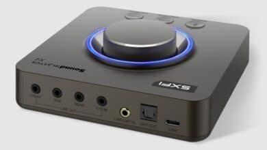 Bild der externen Soundkarte Creative Sound Blaster X4