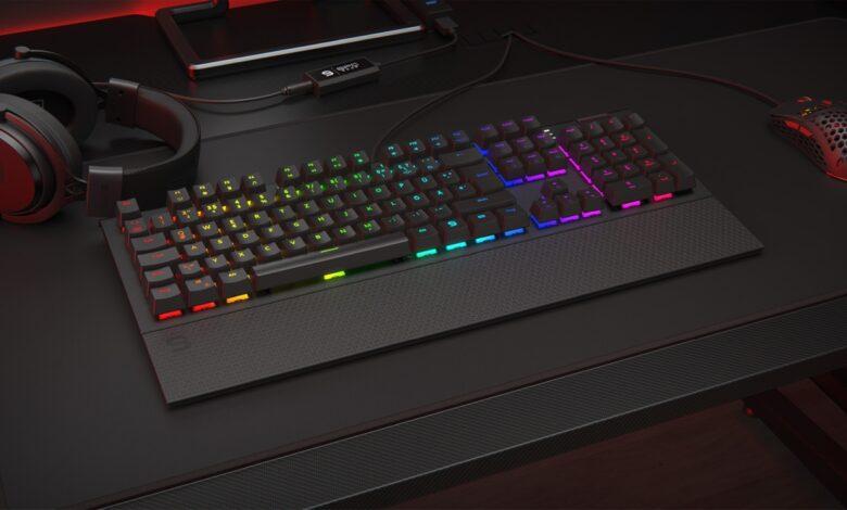 Bild der SPC Gear GK650K Omnis Gaming-Tastatur