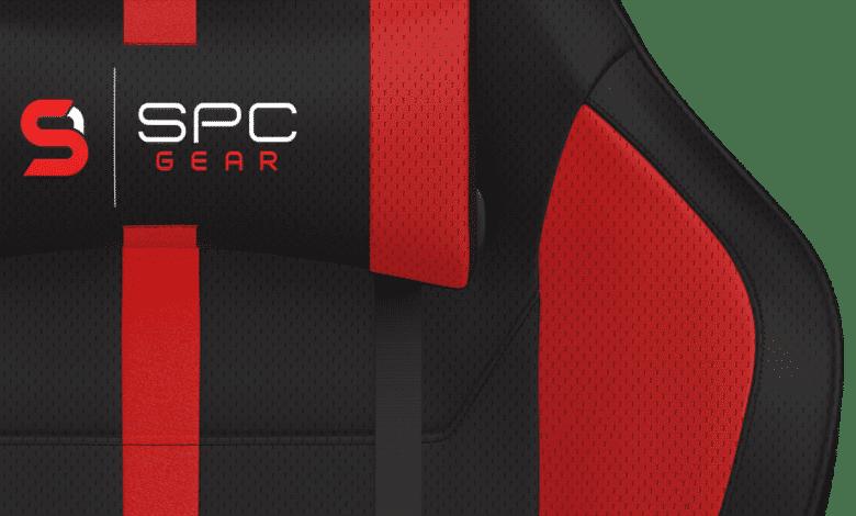 Detailaufnahme des SPC Gear SR400F RD