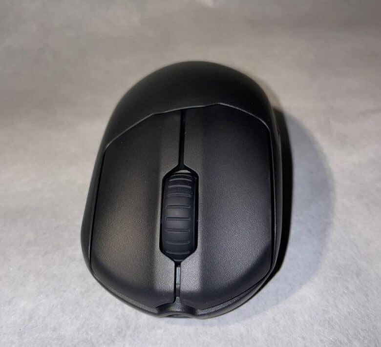 Frontansicht der SteelSeries Prime Gaming-Maus