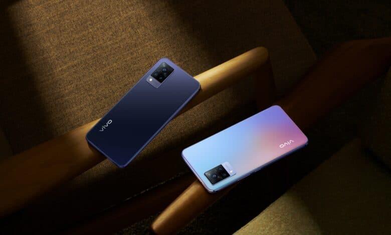 Bild des vivo V21 5G-Smartphones
