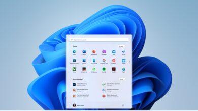 Screenshot des Desktops von Windows 11