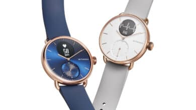 Bild der Withings ScanWatch in Rose Gold