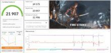 3DMark Fire Strike Razer Blade 14