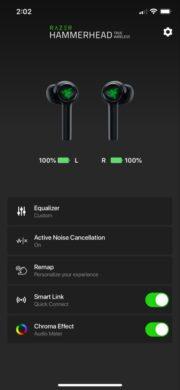 Razer Hammerhead True Wireless Earbuds 2. Generation