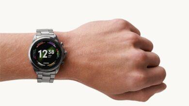 Fossil Gen 6 Smartwatch Edelstahl