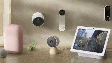 Google Nest Doorbell und Nest Cam