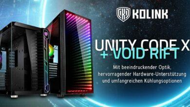 Kolink Unity Code X ARGB & Void Rift ARGB Midi-Tower