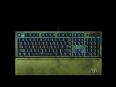 Razer BlackWidow V3 – Halo Infinite Edition