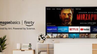 Amazon Basics Smart TV Indien