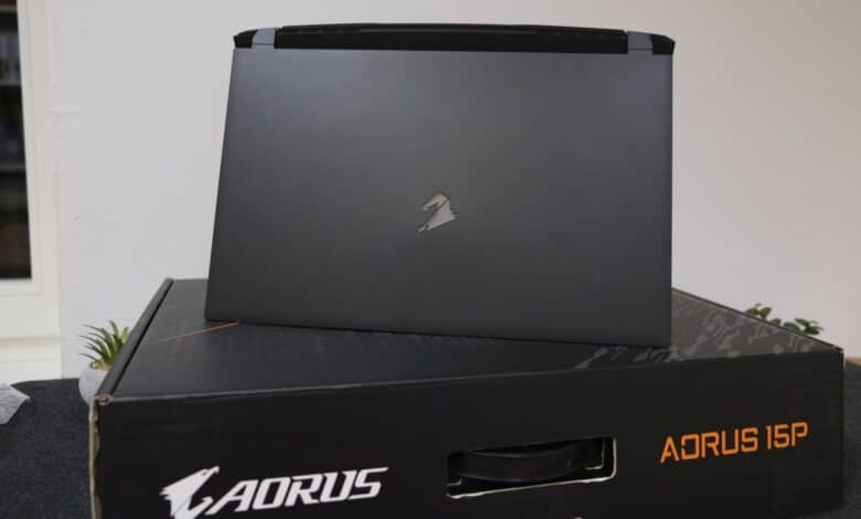 Gigabyte AORUS 15P YD Test