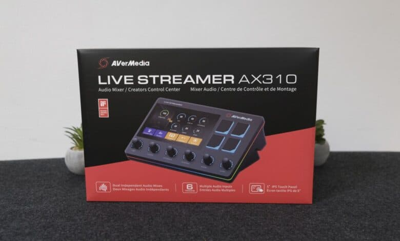 Avermedia Live Streamer AX 310