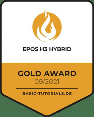 EPOS H3 Hybrid Gold Award