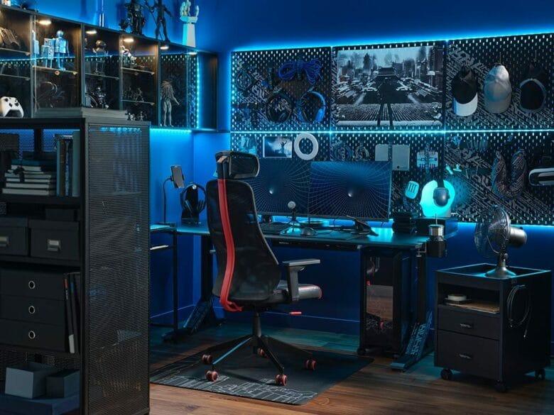 Ikea und Asus ROG Gaming-Möbel