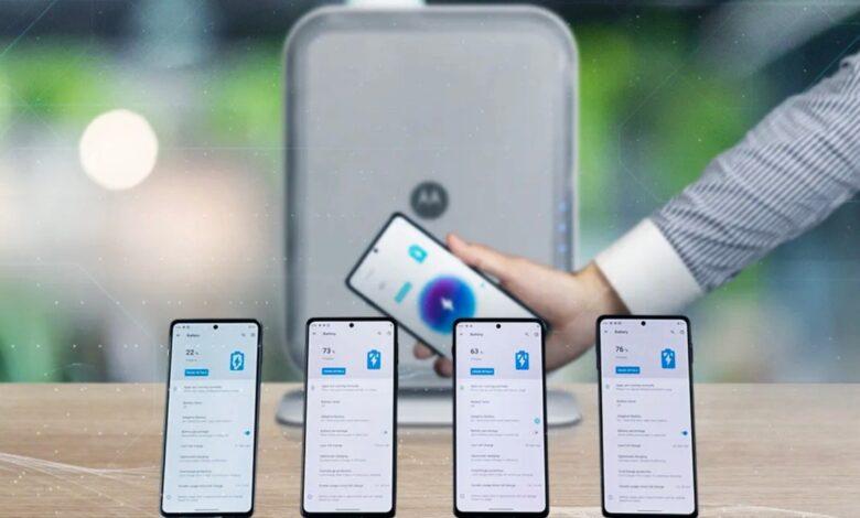 Motorola Space Charging-Technologie