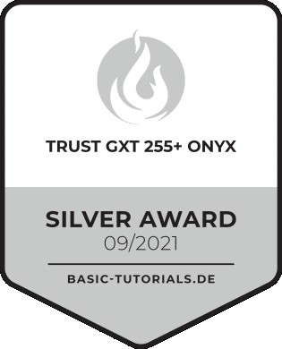 Trust GXT 255+ ONYX Silver-Award
