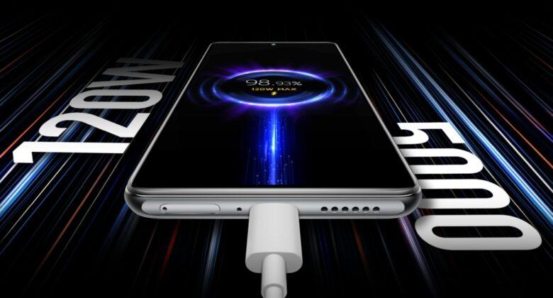 120 W Xiaomi HyperCharge im Xiaomi 11T Pro