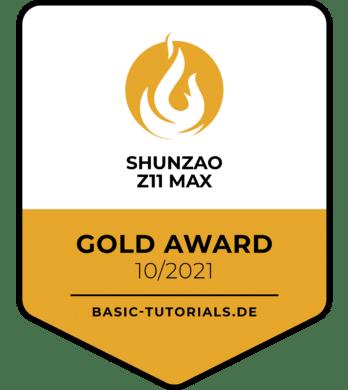 Shunzao Z11 Max Award