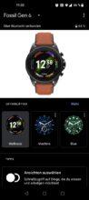 Fossil Gen 6 Wear OS App