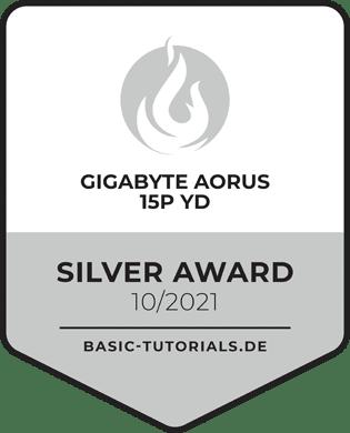Gigabyte AORUS 15P YD Silver Award
