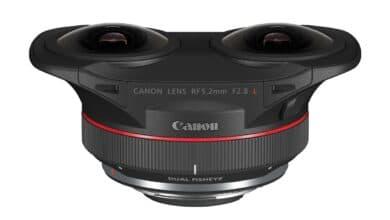 Canon RF 5.2mm F2.8 L Dual Fisheye