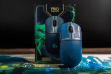 Logitech G PRO Wireless Maus League of Legends Edition