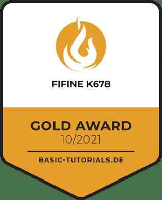 FiFine K678 Gold Award