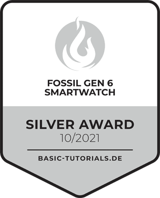 Fossil Gen 6 Smartwatch Award