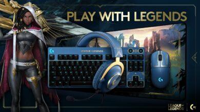 Logitech G League of Legends Kollektion